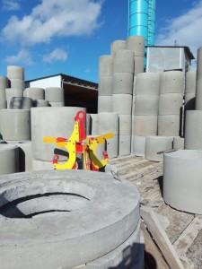 Септик из бетонных колец в Недельном