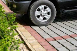 Укладка брусчатки для парковки от 1050 рублей/кв м