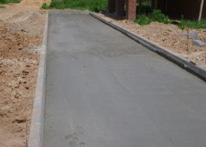 Укладка брусчатки с заливкой бетонного основания от 1450 рублей/кв м