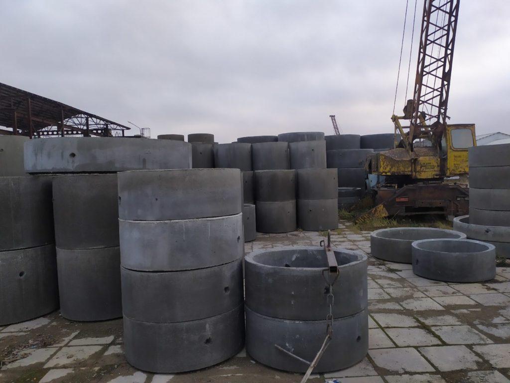 бетонные кольца Малоярославце с доставкой манипулятором